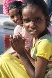 Bambini di preghiera dell'India Fotografia Stock