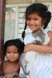 Bambini di Rican della Costa Fotografia Stock