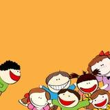 Bambini di risata Immagine Stock Libera da Diritti