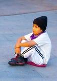 Bambini di seduta Immagini Stock Libere da Diritti
