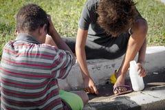 Bambini di strada Fotografie Stock Libere da Diritti