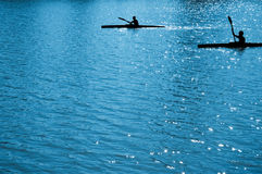 Bambini di Watersport (rowers) Fotografia Stock