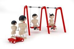 Bambini divertenti del gruppo Immagine Stock Libera da Diritti