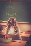Bambini durante la lezione a scuola Fotografia Stock