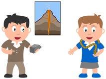 Bambini e job - ambiente Immagini Stock