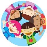 Bambini felici Immagine Stock Libera da Diritti