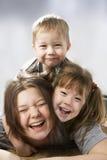 Bambini felici. fotografie stock