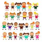 Bambini felici royalty illustrazione gratis