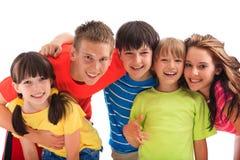 Bambini felici Immagine Stock