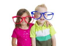 Bambini felici che giocano insieme Immagini Stock Libere da Diritti