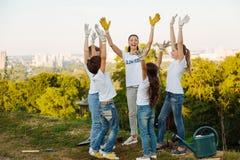 Bambini felici che godono delle loro vacanze estive Immagine Stock Libera da Diritti