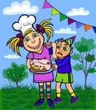 Bambini. festa Fotografie Stock Libere da Diritti