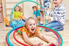 Bambini impressionabili Fotografie Stock