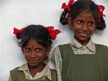 Bambini in India del sud Immagini Stock Libere da Diritti