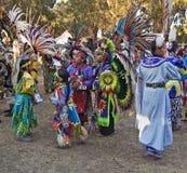 Bambini indiani americani al PowWow della Stanford Fotografie Stock
