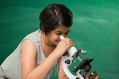 Bambini indiani e scienza Fotografie Stock Libere da Diritti