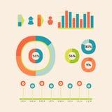 Bambini infographic royalty illustrazione gratis
