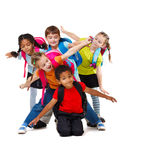 Bambini invecchiati banco Fotografie Stock