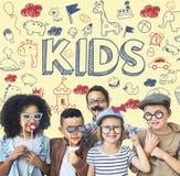 Bambini Joy Happy Child Concept dei bambini Immagine Stock Libera da Diritti
