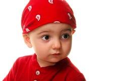 Bambini: L'uso del ragazzo fa il panno Fotografie Stock Libere da Diritti