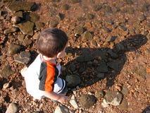 Bambini: Me & la mia ombra Immagine Stock Libera da Diritti