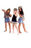Bambini militari per pace fotografia stock