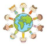 Bambini multiculturali Fotografia Stock