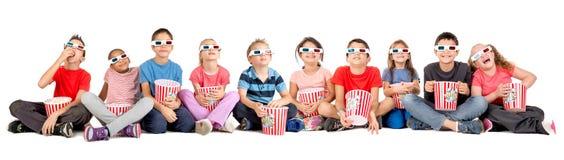 Bambini nei film Fotografie Stock