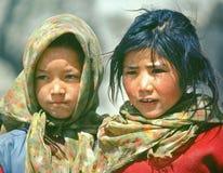 Bambini nel Nepal Fotografia Stock Libera da Diritti