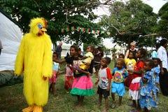 Bambini nel Vanuatu immagini stock