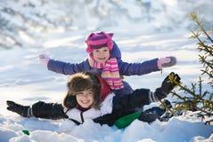 Bambini nella sosta Fotografie Stock Libere da Diritti