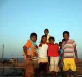 Bambini poveri Fotografia Stock