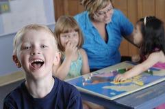 Bambini prescolari Fotografia Stock