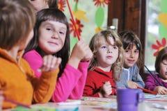 Bambini prescolari Fotografie Stock Libere da Diritti