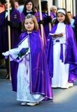 Bambini religiosi Fotografia Stock