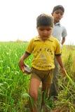Bambini rurali Fotografia Stock Libera da Diritti