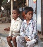 Bambini rurali Fotografie Stock Libere da Diritti