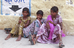 Bambini rurali Immagini Stock Libere da Diritti