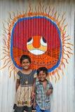 Bambini rurali Fotografia Stock