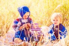 Bambini russi Immagini Stock Libere da Diritti