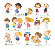 Bambini semplici Fotografia Stock Libera da Diritti