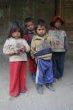 Bambini senza casa della via Immagini Stock Libere da Diritti