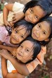 Bambini senza casa di povertà Immagine Stock