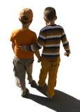 Bambini separati bianchi Fotografia Stock Libera da Diritti