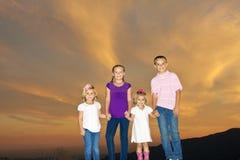 Bambini sorridenti felici Fotografie Stock Libere da Diritti