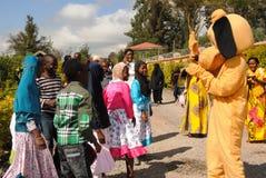 Bambini spettacolo e divertimento Nairobi Kenya Fotografie Stock Libere da Diritti