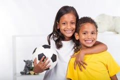Bambini sportivi Fotografie Stock