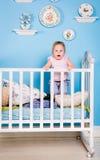 Bambini sul letto Fotografia Stock Libera da Diritti