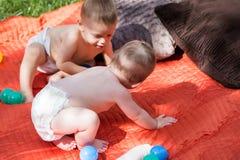 Bambini svegli Fotografie Stock