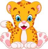 Bambini svegli del ghepardo illustrazione vettoriale